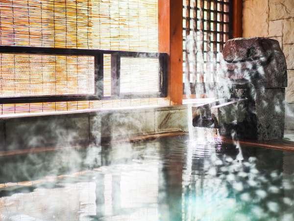 【Gタイプ:漱石】日の光が格子を伝い、湯船を彩り、美しく湯気が舞う。この場所でしか出会えない絶景。