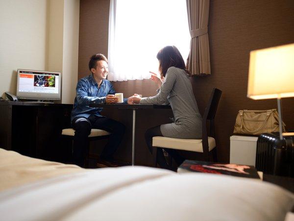 ◆ワイドバスルーム◆お二人でごゆっくりおくつろぎ下さい☆