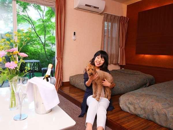 【ガーデン・コンフォート:客室一例】大切な家族とお部屋でのんびり