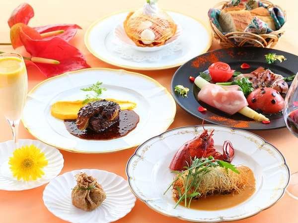 【贅沢グルメプラン】ある日のお料理コース一例