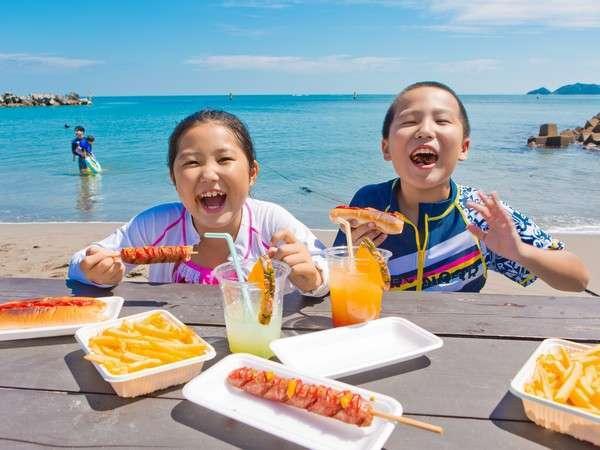徳島で一番早いかも!?宿泊ゲストは無料でプライベートビーチ&プールが利用可※期間限定