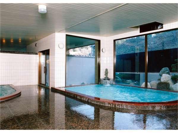 水素イオン濃度PH10以上の良質な温泉宿泊者様はチェックイン~朝9:00まで夜中もご利用頂けます。