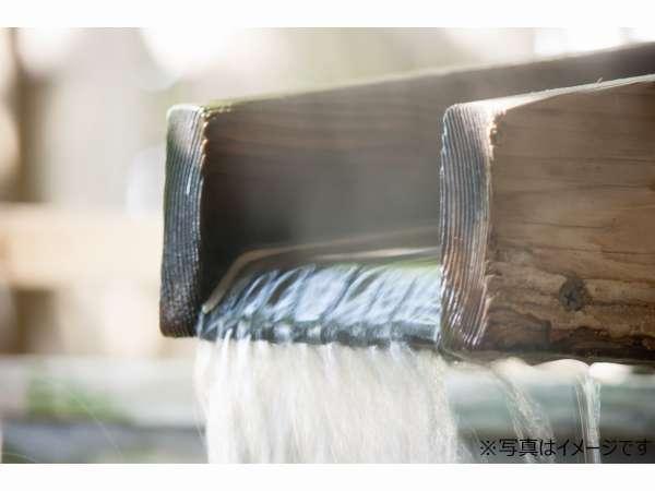泉質は無色透明のナトリウム・カルシウム-塩化物・硫酸塩温泉。