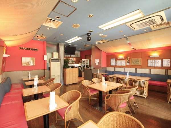 レストラン「マルコポーロ」。ご朝食はもちろん、ランチ・夕食も提供しております