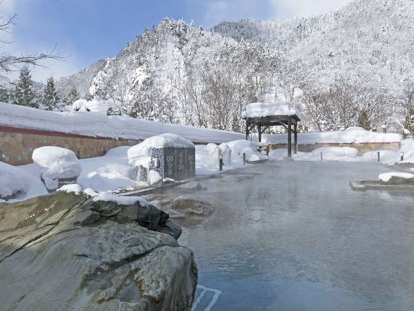 【希みの湯】雪国ならではの温泉体験をお楽しみください