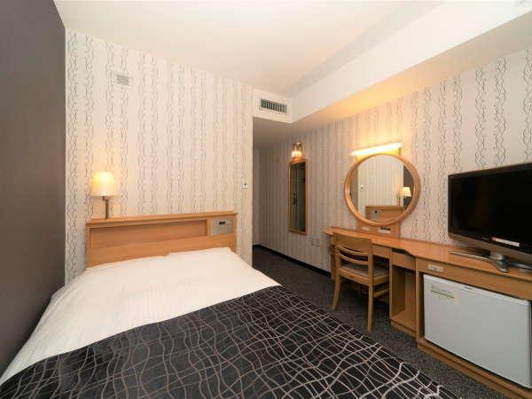 セミダブルルーム / 12平米 / ベッド幅120cm×1台