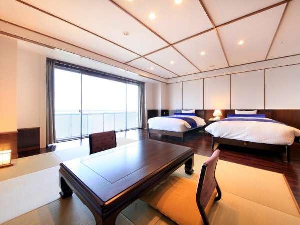 【客室】最上階、洋スーペリアルーム