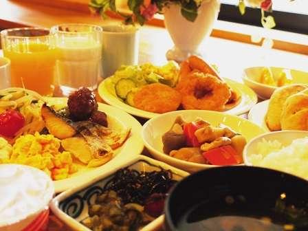 バイキング朝食