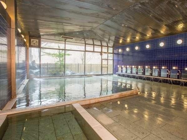男性大浴場 営業時間5:00~10:30/13:00~24:00(水・金はメンテナンスの為時間変更あり)