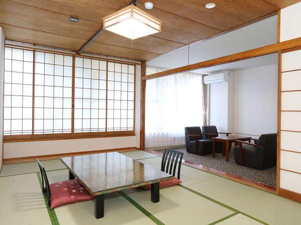 禁煙和室12畳(リビングスペース付)一例