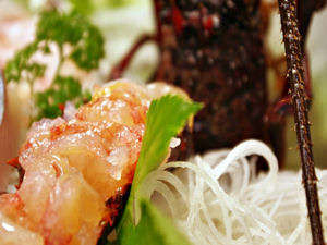 【晴海荘】新鮮な金目の煮付・伊勢海老の刺身・鮑の踊り焼き海の幸満喫の宿