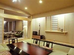 広々とした和室の付いた最上階特別室