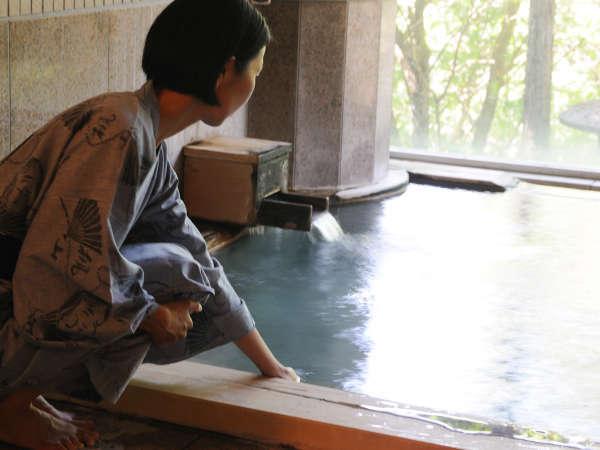 【男性風呂■真秀の湯】24時間入浴可能です。お好きな時間にどうぞ
