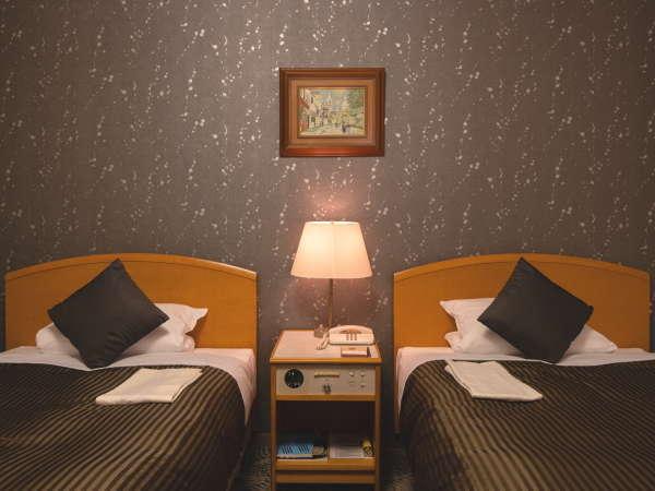 スタンダードツインルーム■26平米 幅110cmのベッドを使用(※写真はイメージです)