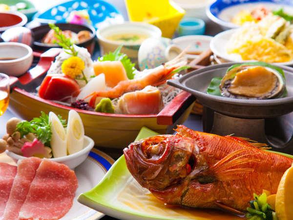 料理イメージ ※お食事の内容は季節により多少の変更が御座います。