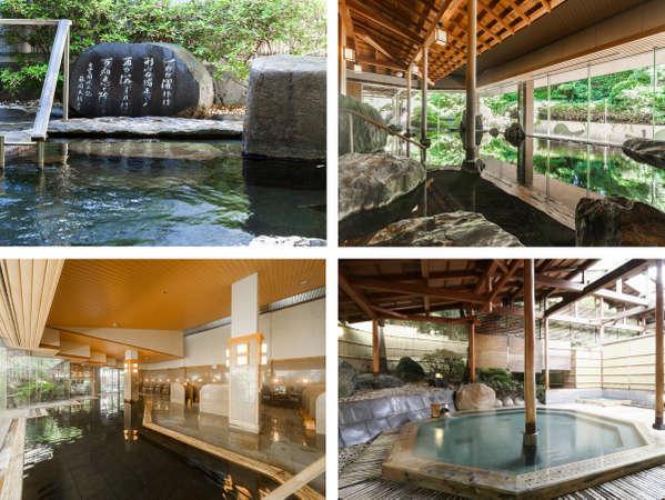 大浴場、巌の湯、檜の湯