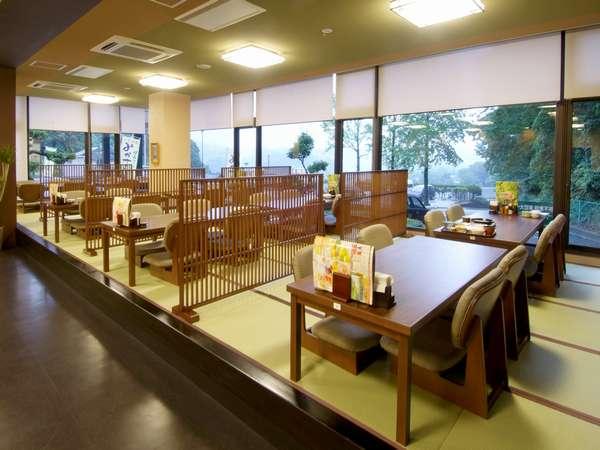 レストラン「和膳 なごみ」では、御膳もの・単品ものも豊富。