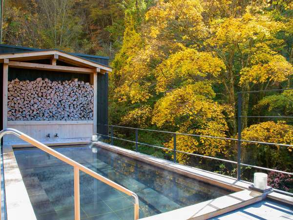 2017年4月にオープンした大浴場併設の露天風呂