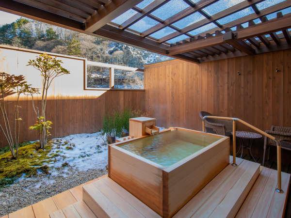 深山亭・露天風呂付き客室◆贅沢な休日を叶えてくれる最上級のお部屋