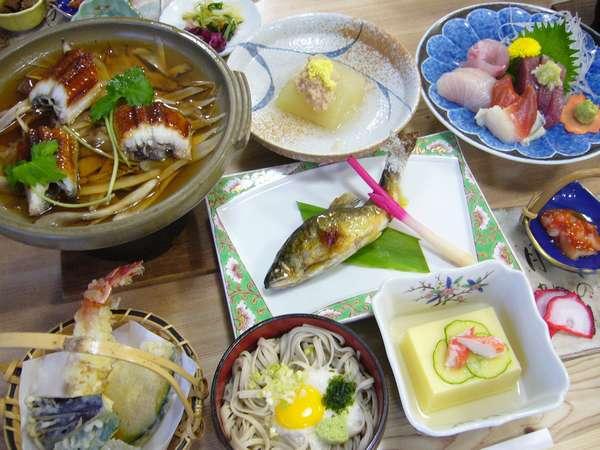 ご主人お手製のある日の夕食(一例)