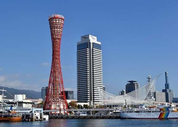 メリケンパーク、ポートタワー☆港町神戸の雰囲気を楽しんでみてはいかがでしょうか♪