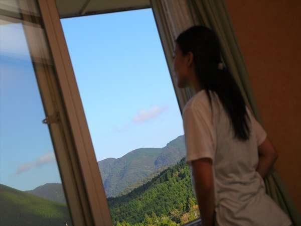 お部屋からの風景
