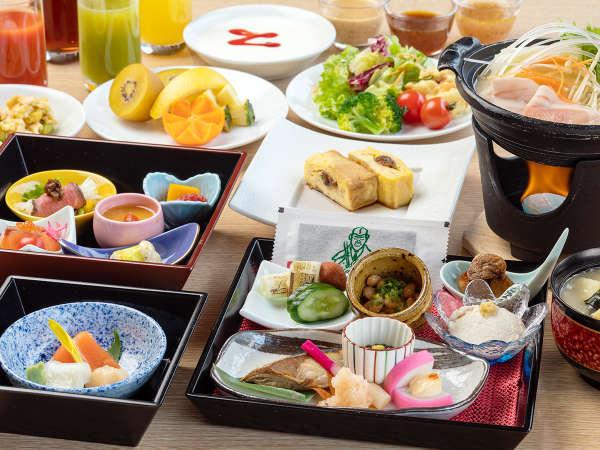 【朝食】冬のおもてなし朝膳(12/3~3/1提供予定)