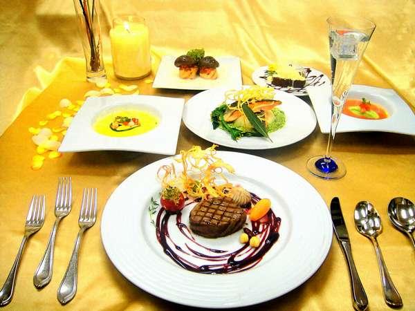 カジュアルフレンチコース(食事の一例)