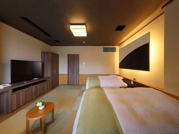 客室 2F 【Bタイプ】  和洋室(シャワータイプ、最大3名様、禁煙、お子様ご宿泊可