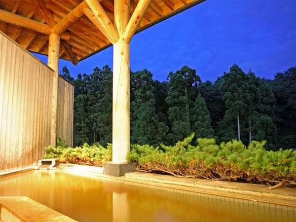 【露天風呂・潮見館】地下1階 樹海の湯