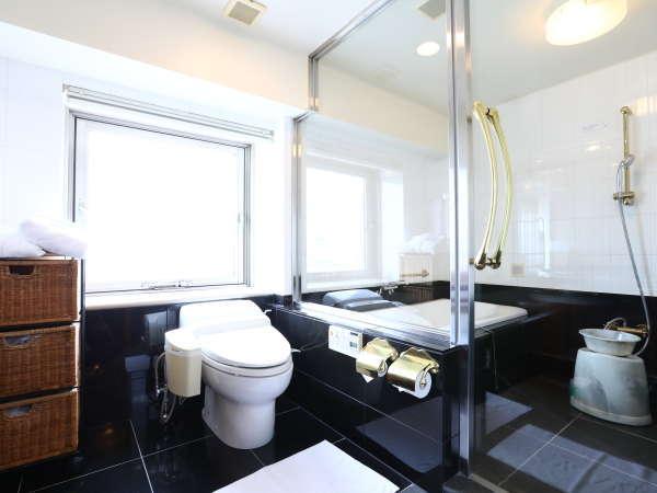 スイートルーム浴室