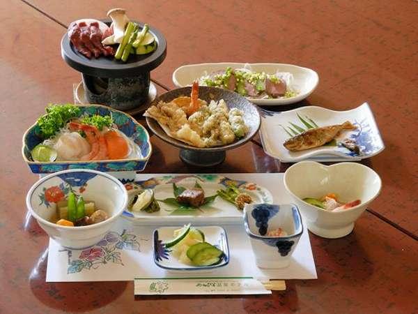 山の幸を満喫【夕食一例】