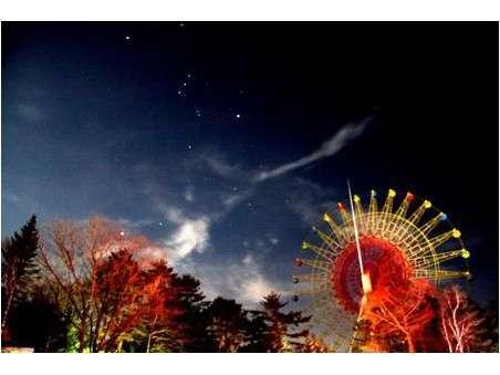 希望者には、星空観察会を行っています。