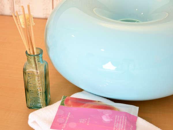 *レディースルーム(客室一例)/女性専用の客室はルームフレグランスや加湿器が常備!
