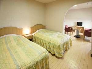 洋室ツインルーム(ゆったり38平米)