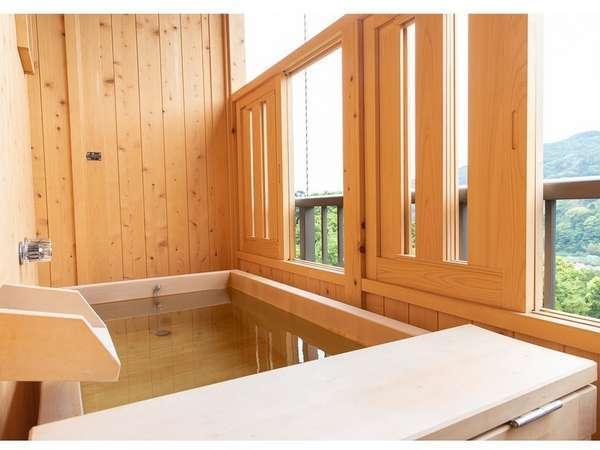 2017年7月15日に増設された露天風呂付き客室