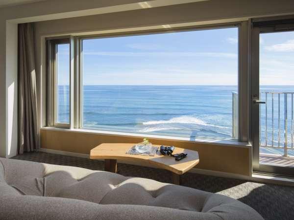 【406号室】大きな窓から見える太平洋