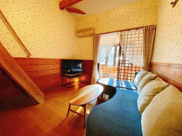 全5部屋。花合野川のせせらぎが心地よく、開放的で広々としております。、