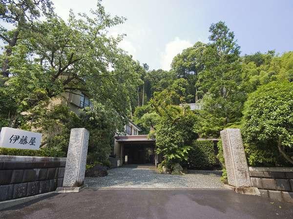 【門より】豊かな自然の残る湯河原温泉