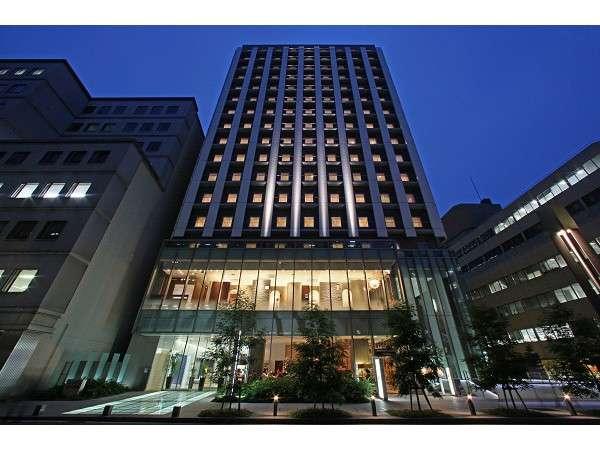 【ホテルユニゾ大阪淀屋橋:正面外観】