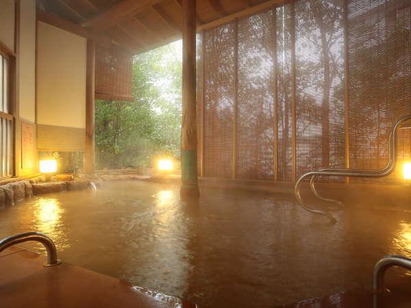 大浴場の露天風呂「瑞泉」