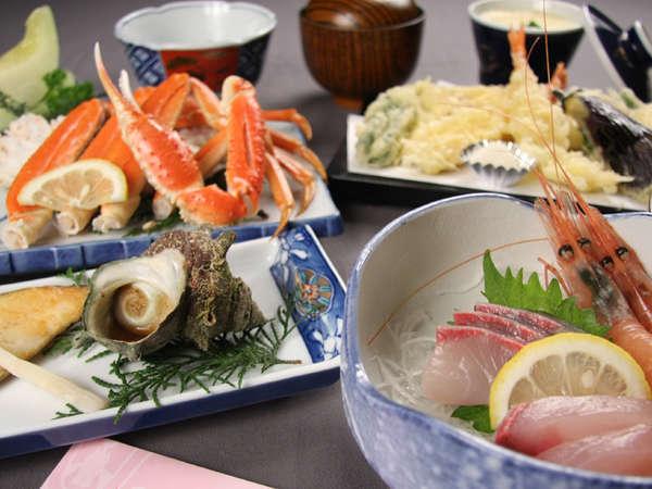 【まつかぜ】宿目前に広がる久美浜湾と新鮮魚介料理が自慢の温泉民宿