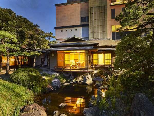 日本庭園内・離れ『松月亭』