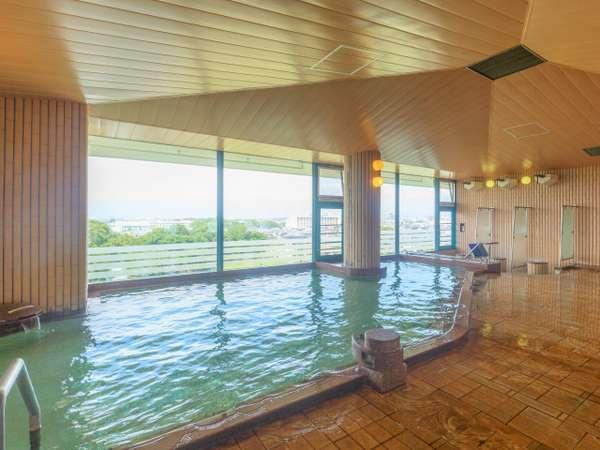 【5階の展望浴場】ゆっくりと湯あみをお楽しみください