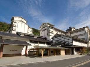 斉木別館全景・自然に囲まれた心和む宿