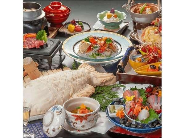 会席料理 ※イメージ