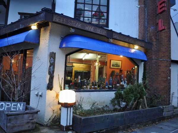 珈琲からお食事までメニューをとりそろえております。レストラン・喫茶ご利用のみも大歓迎です。