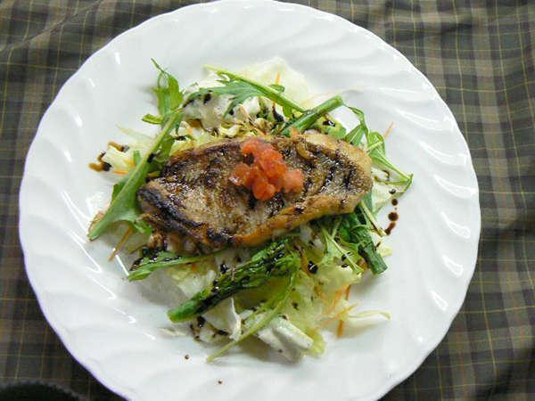 ・【夕食一例】プチフレンチコースの魚料理
