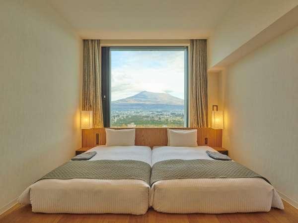 客室:富士ビューツインルーム