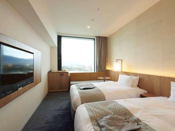 客室:富士ビューツインルーム(トリプル)